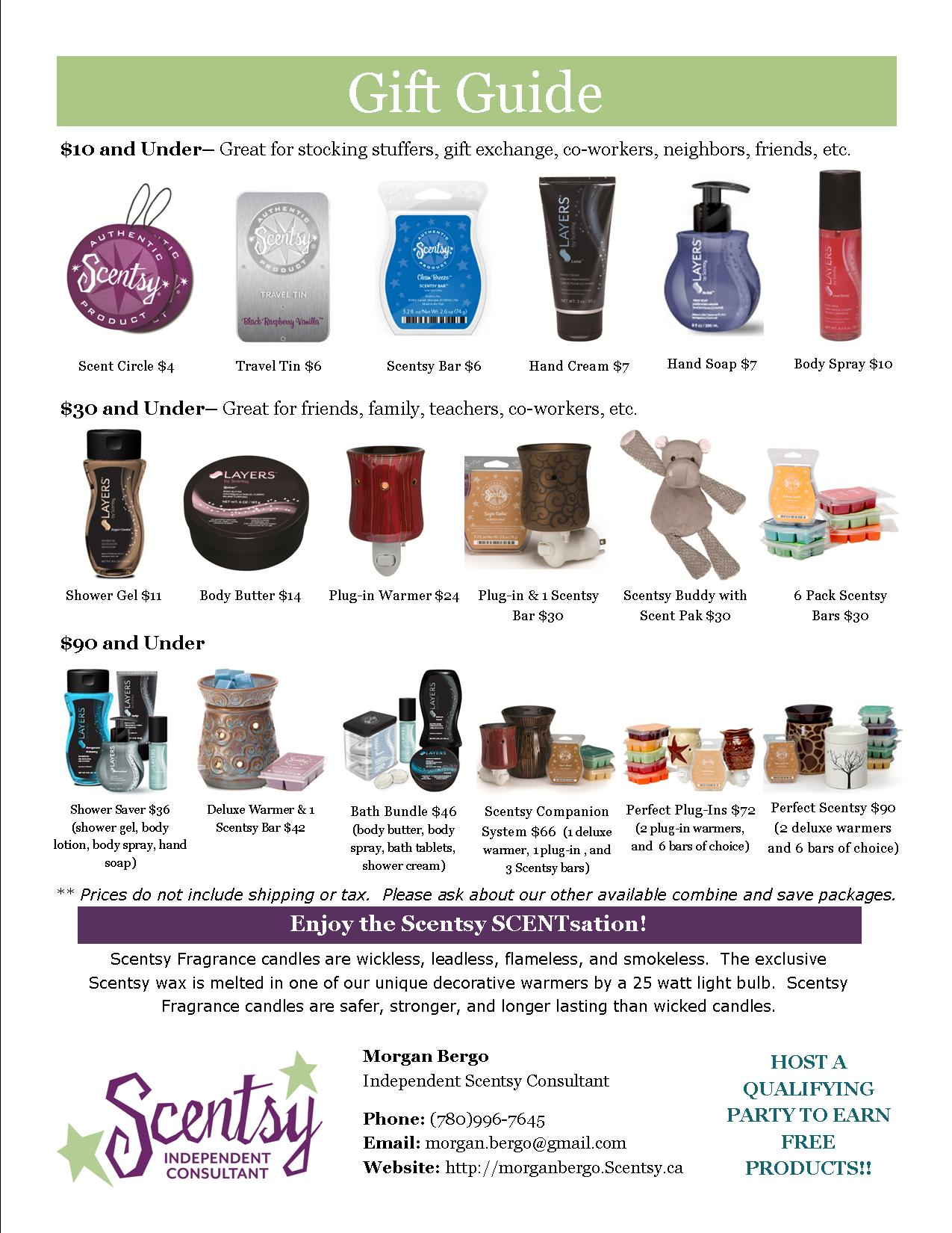 Gift Ideas | Everyday Scentsations